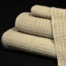 Waffle Hand Towel in Natural